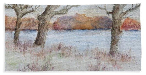 Lovers' Lake Bath Towel