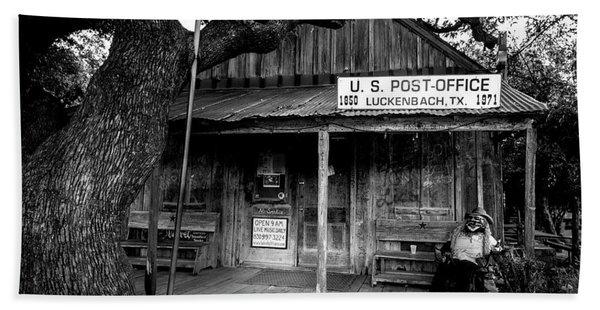 Luckenbach Texas Bath Towel