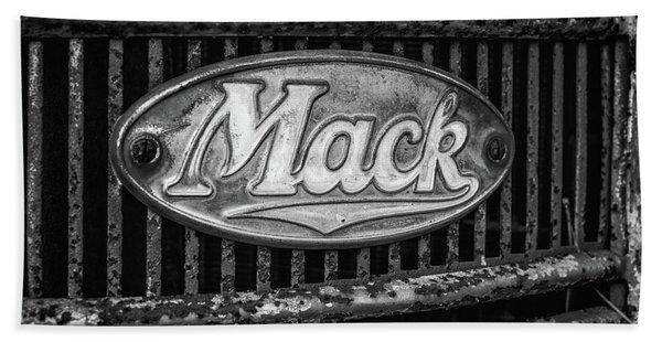 Mack Truck Emblem Bath Towel