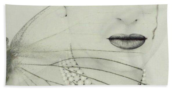 Madam Butterfly - Maria Callas  Bath Towel