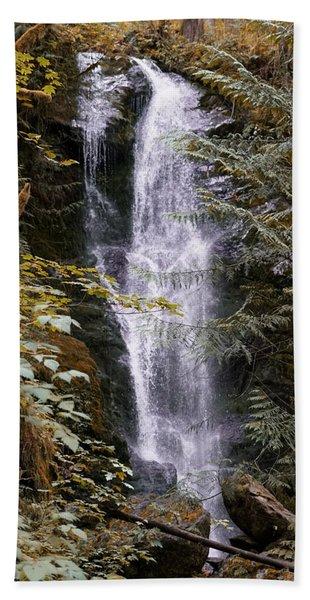 Magical Falls Quinault Rain Forest Bath Towel