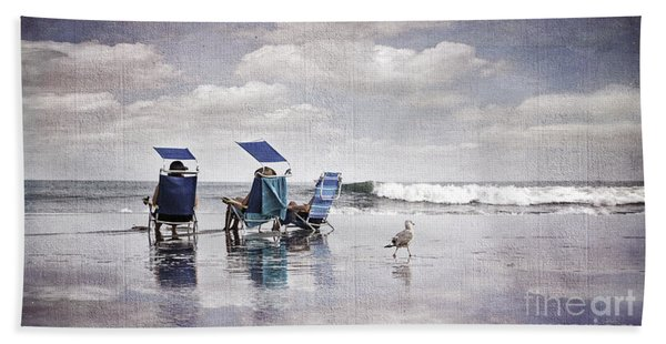 Margate Beach Relaxation Hand Towel