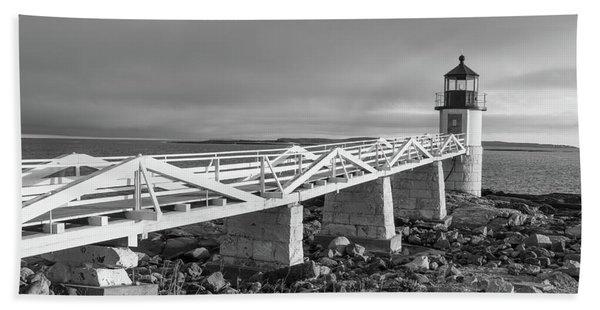 Marshall Point Lighthouse Hand Towel