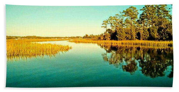 Marvelous Marsh Hand Towel