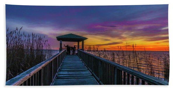 Mattamuskeet Lake Bath Towel