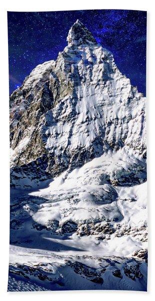 Matterhorn At Twilight Bath Towel