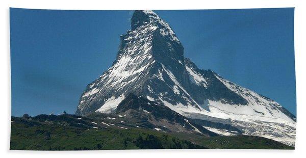Matterhorn, Switzerland Bath Towel
