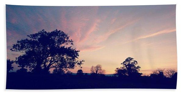 May Sunrise, Lancashire, England Bath Towel