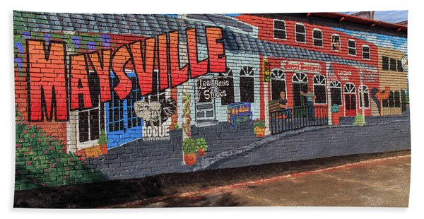 Maysville Mural Hand Towel