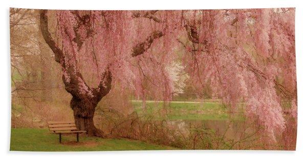Memories - Holmdel Park Bath Towel