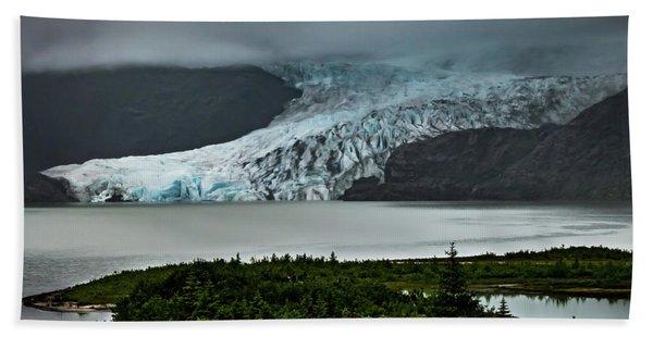 Mendenhall Glacier Hand Towel
