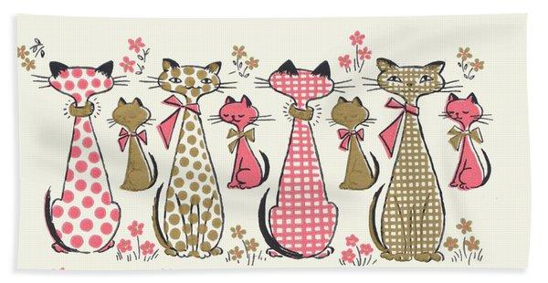 Meow... Bath Towel