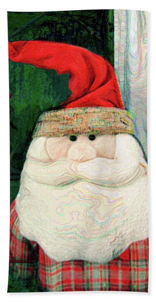 Merry Christmas Art 15 Hand Towel