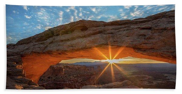 Mesa Arch Sunrise Bath Towel