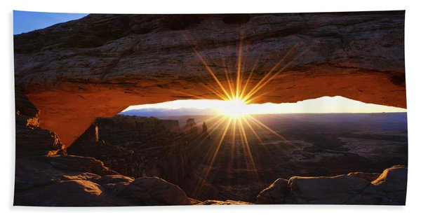 Mesa Sunrise Bath Towel