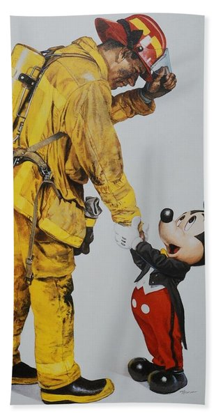 Mickey And The Bravest Bath Towel