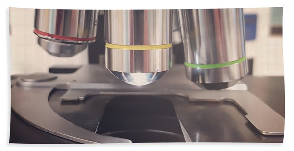 Microscope Bath Towel