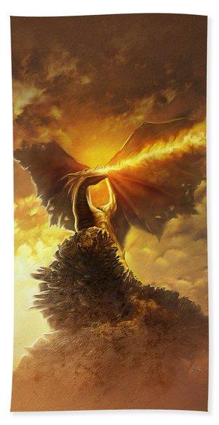 Mighty Dragon Hand Towel