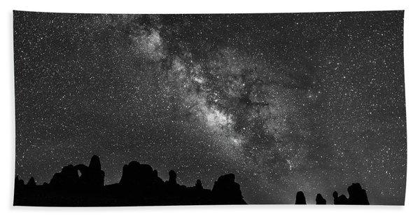 Milky Way At The Windows Bath Towel