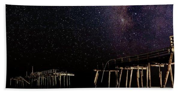 Milky Way Over Frisco Hand Towel