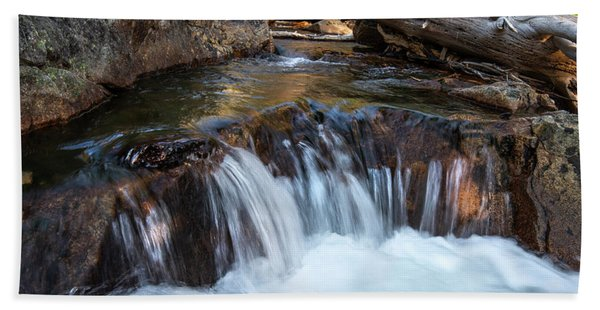 Mini-fall At Eagle Falls Hand Towel