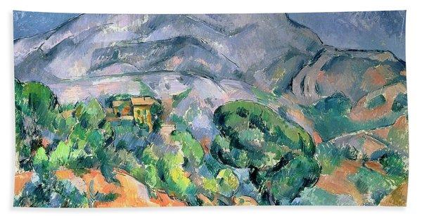 Mont Sainte Victoire Hand Towel