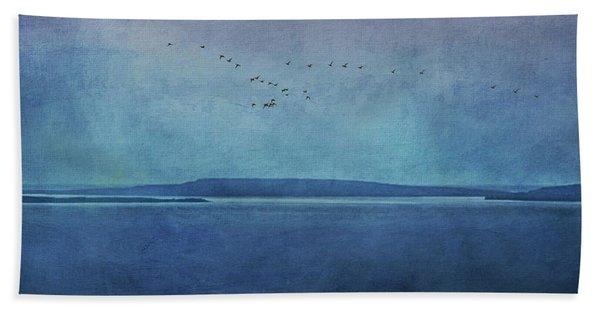Moody  Blues - A Landscape Bath Towel