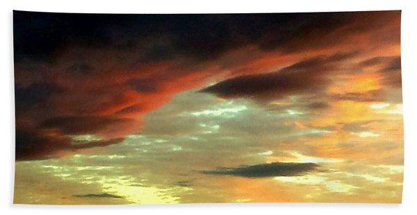 Moody Skies Hand Towel