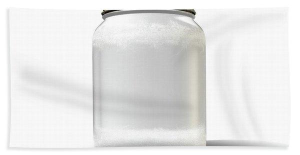 Moonshine Jar Vintage Bath Towel