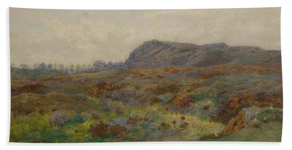 Moorland Landscape By Thorburn Hand Towel
