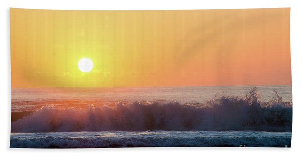 Morning Waves Hand Towel