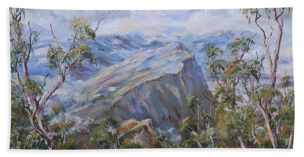 Mount Abrupt Grampians Victoria Hand Towel