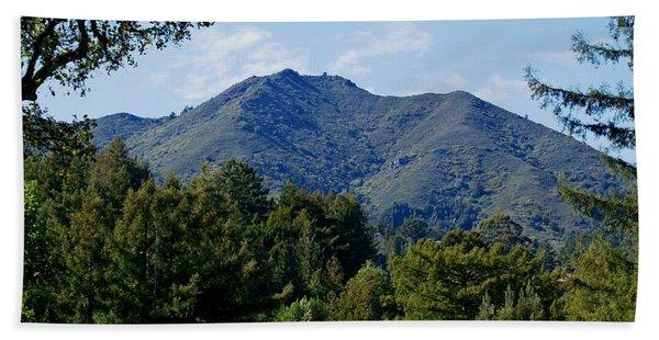 Mount Tamalpais Bath Towel