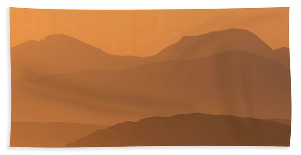 Mull Sunrise Hand Towel