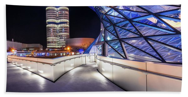 Munich - Bwm Modern And Futuristic Hand Towel