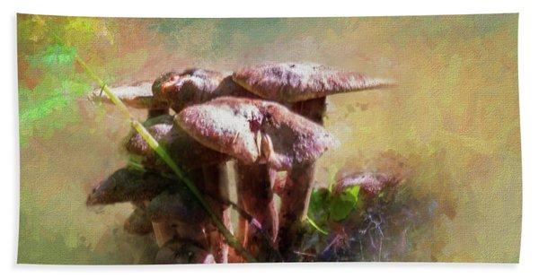 Mushroom Patch Hand Towel