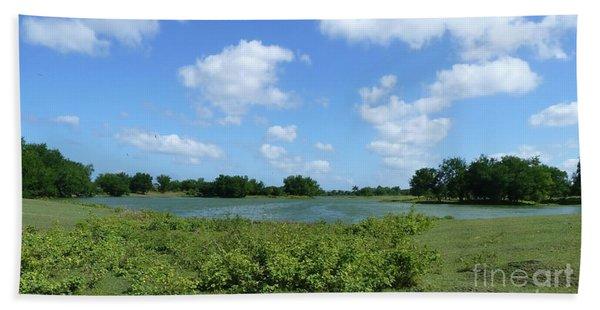 Nature, Land And Sky Bath Towel
