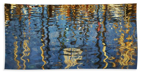 New Bedford Waterfront No. 5 Hand Towel