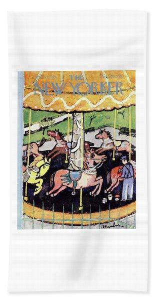 New Yorker April 21 1956 Bath Towel