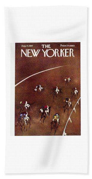 New Yorker August 17 1957 Bath Towel