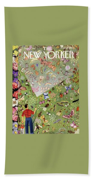 New Yorker June 13 1953 Bath Towel