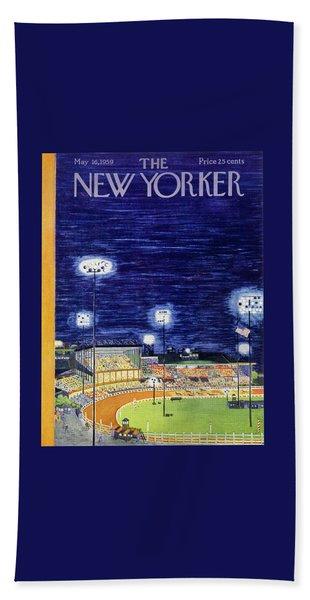 New Yorker May 16 1959  Bath Towel