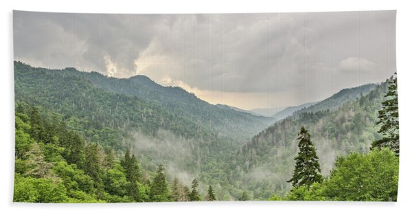 Newfound Gap In Great Smoky Mountains National Park Bath Towel