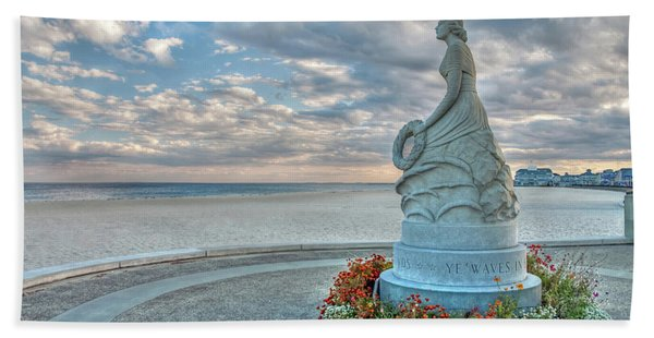 New Hampshire Marine Memorial Hand Towel