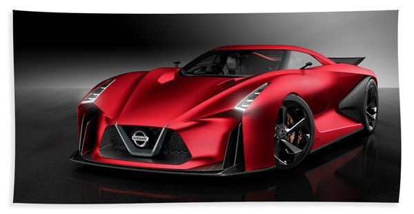 Nissan Concept 2020 Vision Gran Turismo Hand Towel