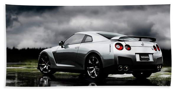 Nissan Gt-r Hand Towel