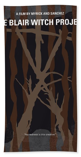 No476 My The Blair Witch Project Minimal Movie Poster Hand Towel