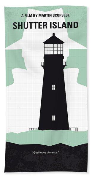 No513 My Shutter Island Minimal Movie Poster Hand Towel