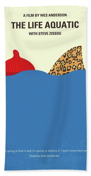 No774 My The Life Aquatic With Steve Zissou Minimal Movie Poster Hand Towel