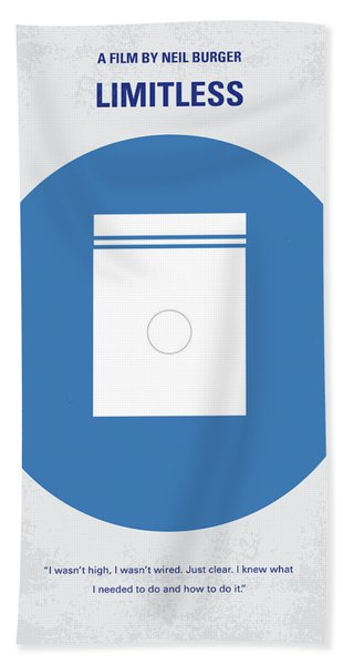 No828 My Limitless Minimal Movie Poster Hand Towel